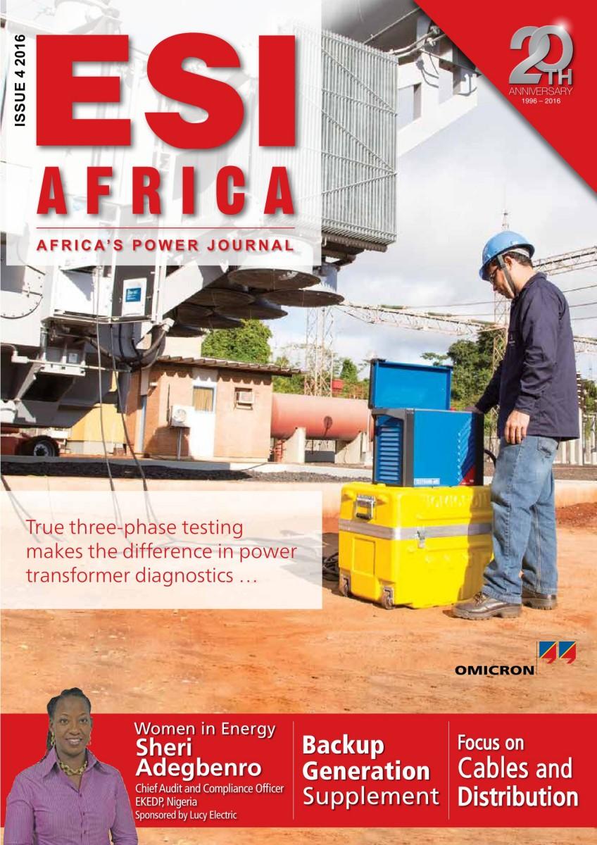 ESI Africa Issue 4 2016