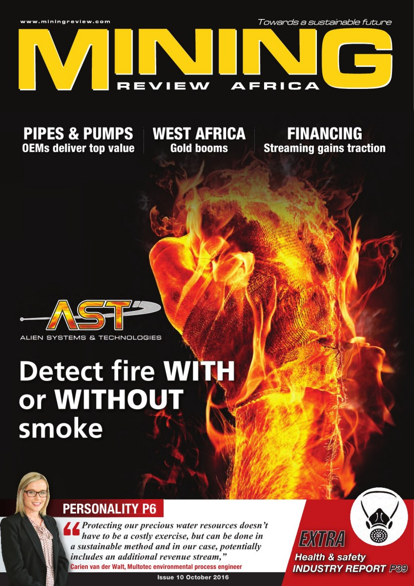 Mining Review Africa Issue 10 2016