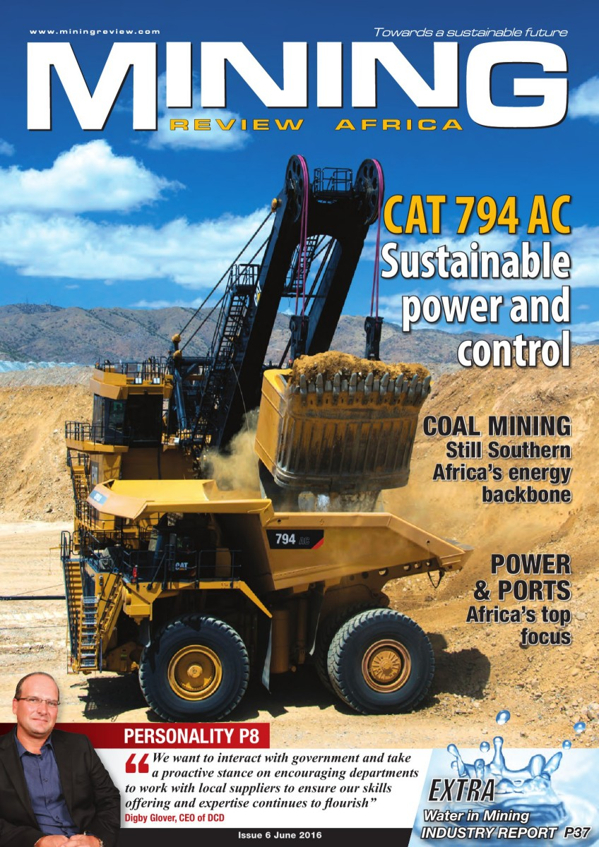 Mining Review Africa Issue 6 2016